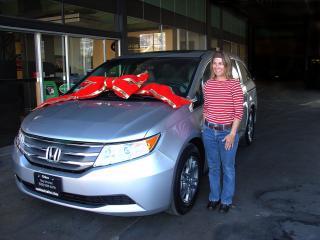 2012 Honda Odyessey EXL
