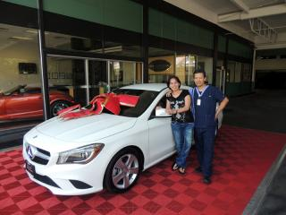 2015 Mercedes Benz CLA 250