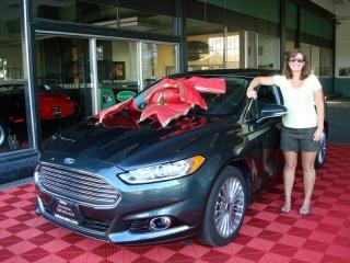 2016 Ford Fusion Titanium Edition