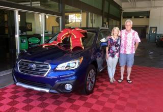 2017 Subaru Touring Outback